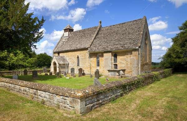 Hailes church, Gloucestershire Stock photo © andrewroland