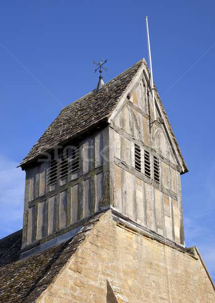 Bell tower, Warwickshire Stock photo © andrewroland