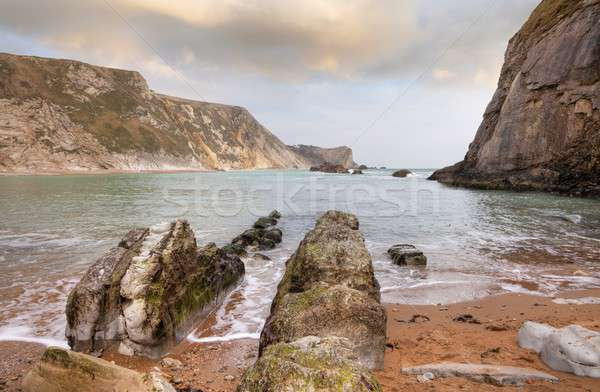 Dorset coastline Stock photo © andrewroland