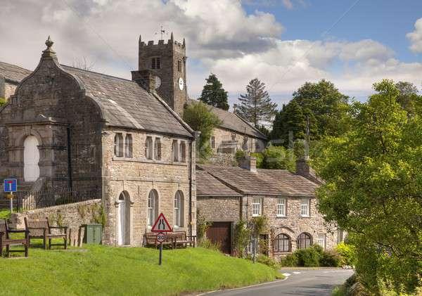 Йоркшир деревне Церкви часовня Сток-фото © andrewroland