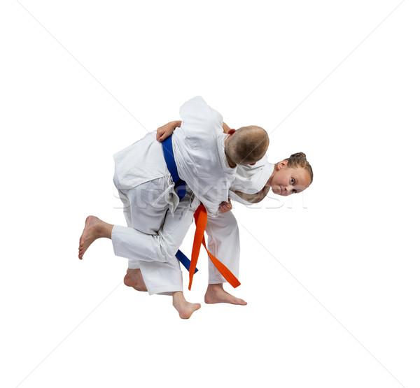Activo judo ninos seguridad nino Foto stock © Andreyfire