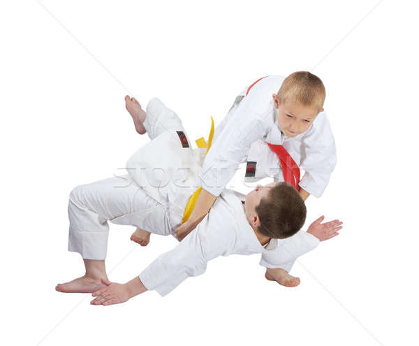 Aktif judo sağlık başarı stil Stok fotoğraf © Andreyfire