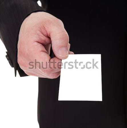 Stock photo: Portrait Of Mature Businessman