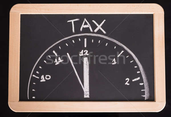 Tax time concept Stock photo © AndreyPopov