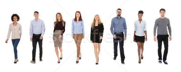 Team Of Multi-racial Businesspeople Stock photo © AndreyPopov