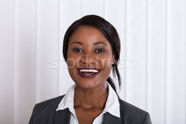 Stock photo: Portrait Of A Happy Businesswoman