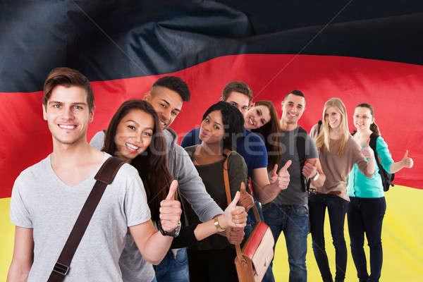 German Classes Stock photo © AndreyPopov