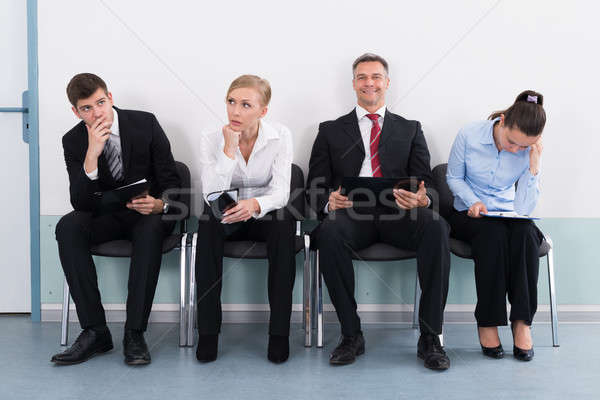 Businesspeople Waiting For Job Interview Stock photo © AndreyPopov