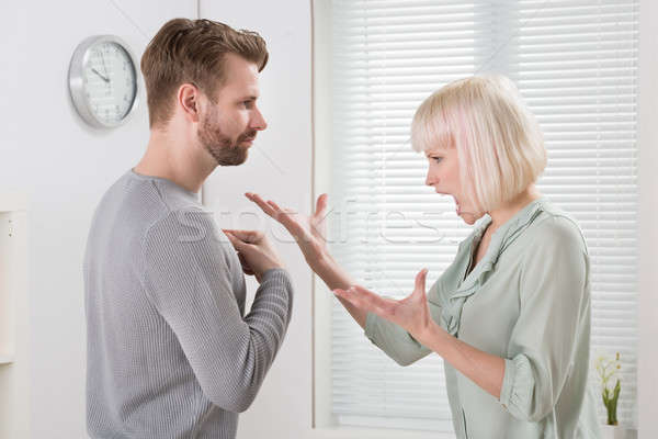 Couple Arguing With Each Other Stock photo © AndreyPopov