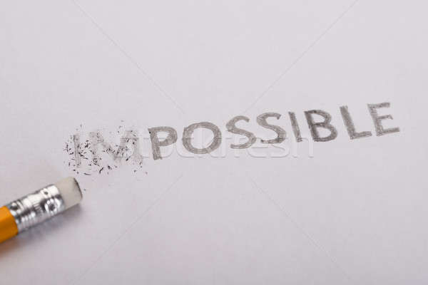 Impossible is possible concept Stock photo © AndreyPopov