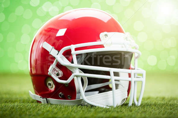 Close-up Of Rugby Helmet Stock photo © AndreyPopov