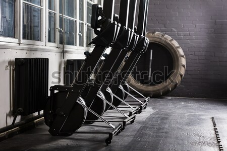 An Exercising Equipment In Gym Stock photo © AndreyPopov