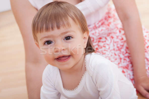 Cute innocent jeunes bébé portrait souriant Photo stock © AndreyPopov