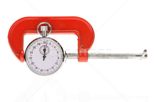 Stopwatch And Clamp Stock photo © AndreyPopov