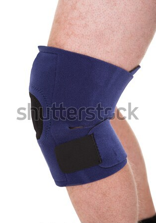 A Person Wearing Knee Brace Stock photo © AndreyPopov