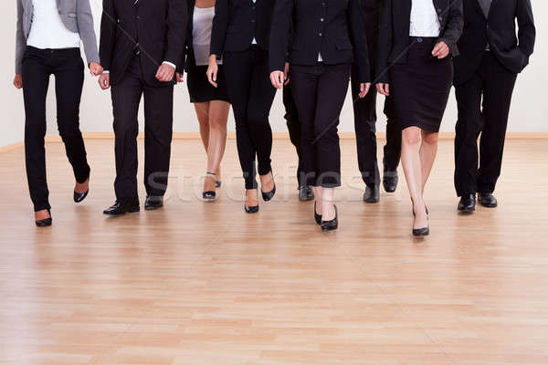 Group of business executives approaching Stock photo © AndreyPopov