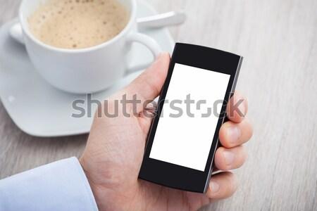 стороны экране столе Сток-фото © AndreyPopov