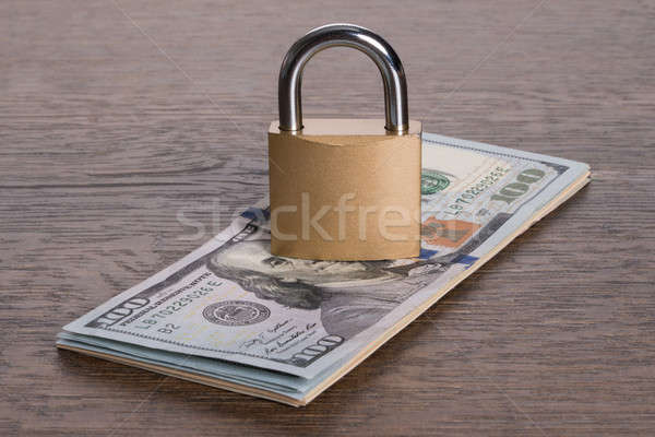 Money security concept Stock photo © AndreyPopov