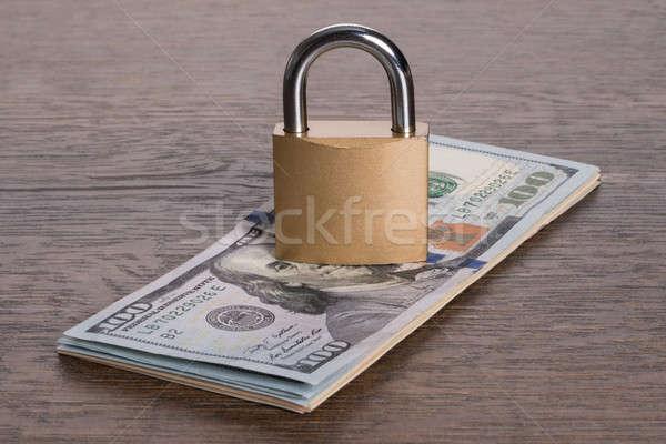 お金 セキュリティ ロック 紙 金融 ストックフォト © AndreyPopov