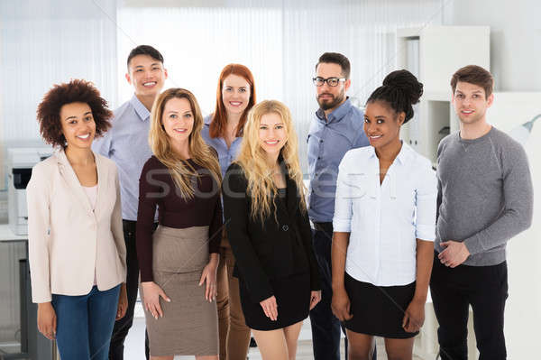 Multi Ethnic Business People In Office Stock photo © AndreyPopov