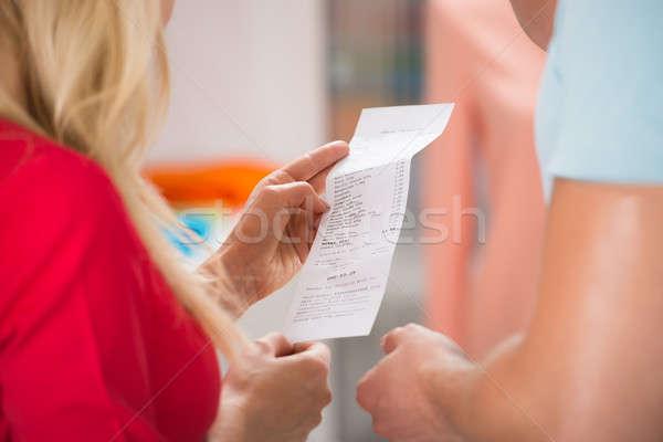 пару торговых получение магазине изображение человека Сток-фото © AndreyPopov