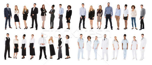 People Belonging From Various Occupations Stock photo © AndreyPopov