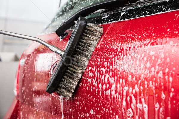 Person's Hand Washing Car Stock photo © AndreyPopov