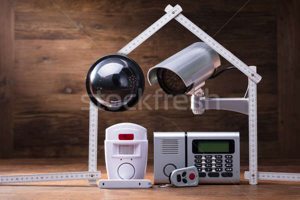 House Security System Concept Stock photo © AndreyPopov