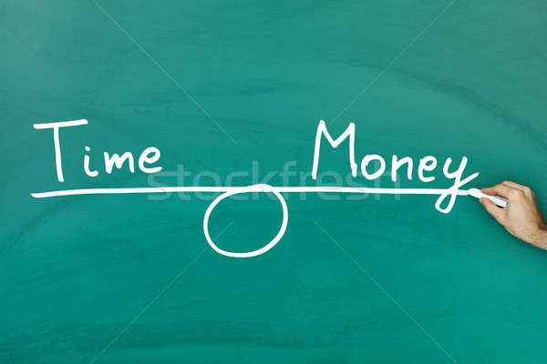 Time and money equilibrium Stock photo © AndreyPopov