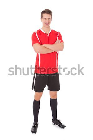 Confident Soccer Player Stock photo © AndreyPopov