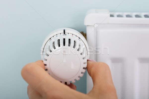 стороны термостат клапан радиатор домой Сток-фото © AndreyPopov