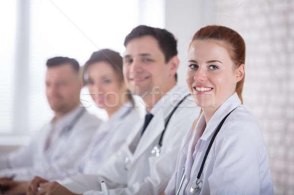 Happy Medical Team Stock photo © AndreyPopov