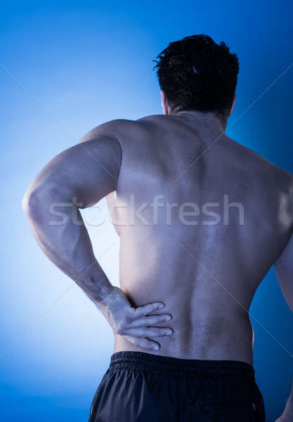Man Suffering From Back Pain Stock photo © AndreyPopov