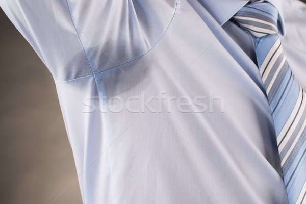 Man Sweating Very Badly Under Armpit Stock photo © AndreyPopov