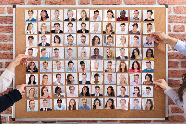 Ludzi biznesu pracy dołączone działalności ręce Zdjęcia stock © AndreyPopov