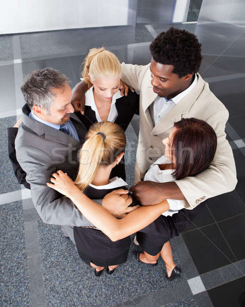 Group Business People Making Huddle Stock photo © AndreyPopov