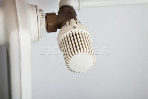 Temperature Control On Radiator Stock photo © AndreyPopov