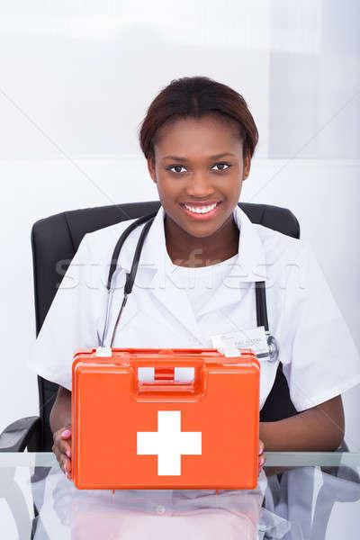 врач первая помощь столе больницу портрет Сток-фото © AndreyPopov