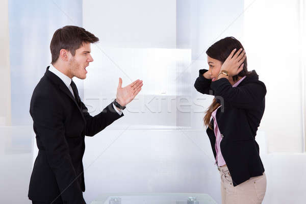 Business People Quarreling Stock photo © AndreyPopov