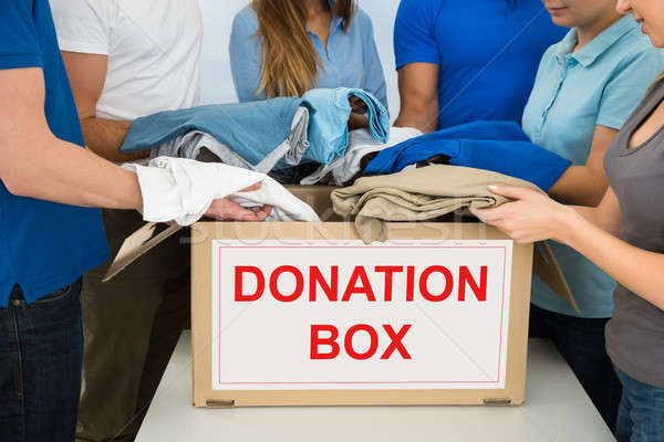 People Donating Clothes Stock photo © AndreyPopov