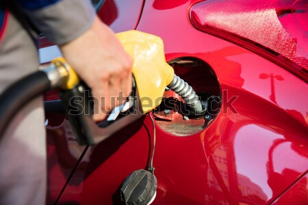 Car With A Gas Pump Stock photo © AndreyPopov