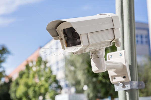 Security Camera On The Street Stock photo © AndreyPopov