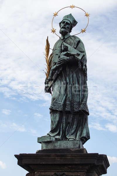 St. John of Nepomuk, Charles bridge,,, Stock photo © AndreyPopov