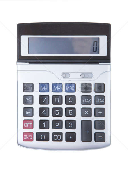 Digital calculator isolated Stock photo © AndreyPopov