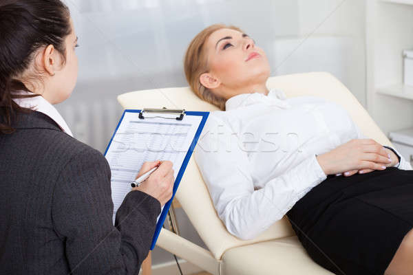 Psychiatrist Examining Patient Stock photo © AndreyPopov