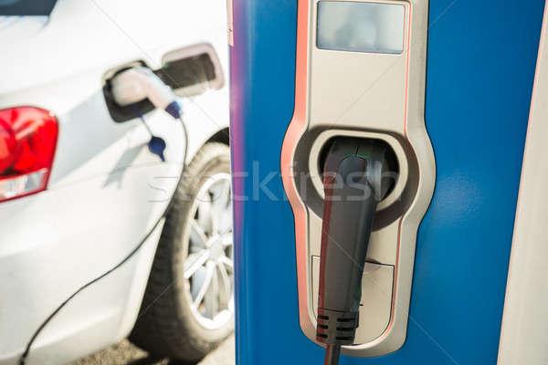 Carro elétrico carro tecnologia verde indústria Foto stock © AndreyPopov