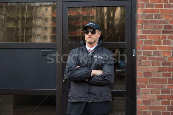 Piedi ingresso maschio uniforme uomo Foto d'archivio © AndreyPopov