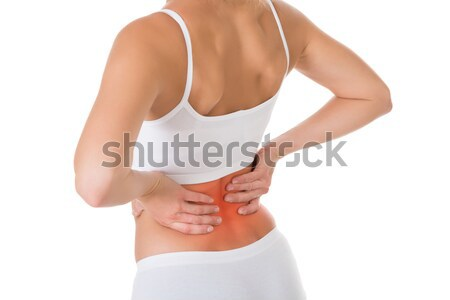 Woman Suffering From Back Pain Stock photo © AndreyPopov