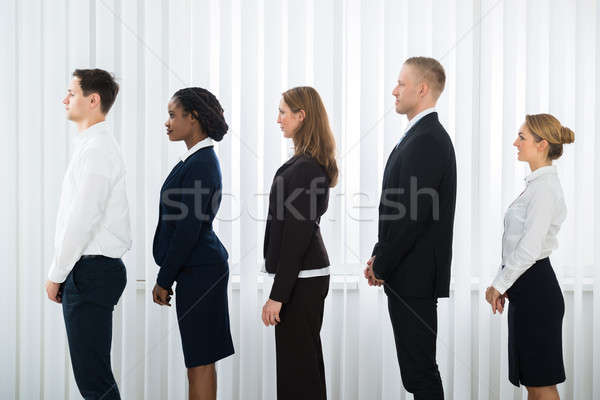 Businesspeople Waiting For Interview Stock photo © AndreyPopov