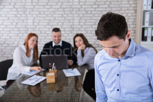 Portrait Of A Businessman In Office Stock photo © AndreyPopov